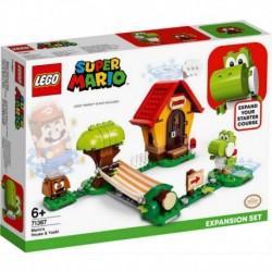 Lego Nintendo Super Mario Bros Casa De Mario Y Yoshi