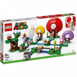 Lego Nintendo Super Mario Bros Caza Del Tesoro De Toad