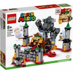 Lego Nintendo Super Mario Bros Batalla Final En El Castillo De Bowser