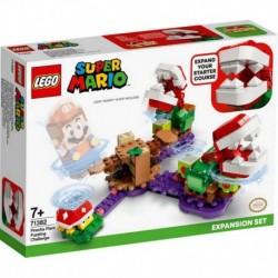 Lego Nintendo Super Mario Bros Desafio Desconcertante De Las Plantas Piraña V29