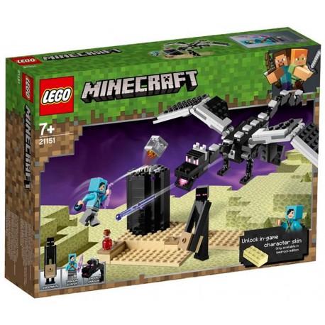 Lego Minecraft La Batalla En El End
