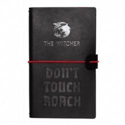 Cuaderno De Viaje Tapa Cuero The Witcher