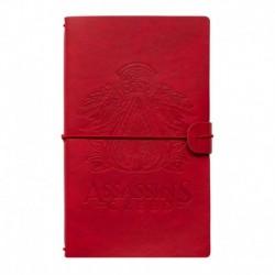 Cuaderno De Viaje Tapa Cuero Assassins Creed