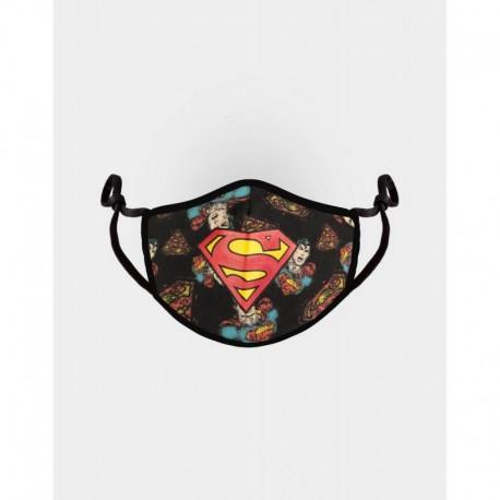 Mascarilla Ajustable Dc Comics Superman