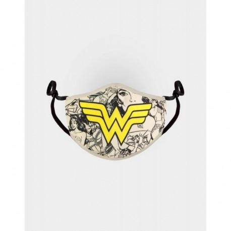 Mascarilla Ajustable Dc Comics Wonder Woman
