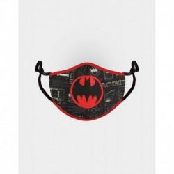 Mascarilla Ajustable Dc Comics Batman Logo