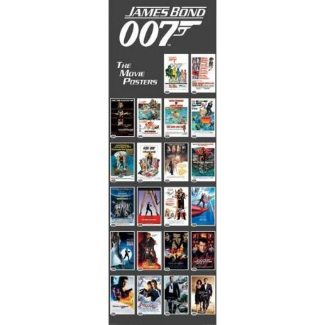 Poster Puerta James Bond 007 Peliculas
