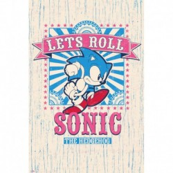 Poster Sonic Let´S Roll