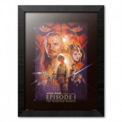 Print Enmarcado 30X40 Cm Star Wars Episode I