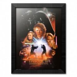 Print Enmarcado 30X40 Cm Star Wars Episode Iii