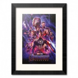 Print Enmarcado 30X40 Cm Marvel Los Vengadores: Endgame One Sheet