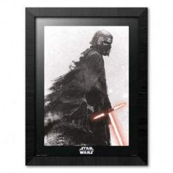 Print Enmarcado 30X40 Cm Star Wars Episodio Ix El Ascenso De Skywalker