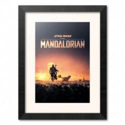 Print Enmarcado 30X40 Cm The Mandalorian