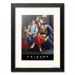 Print Enmarcado 30X40 Cm Friends Personajes