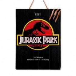 Cuadro De Madera 3D Jurassic Park 1993 Internacional