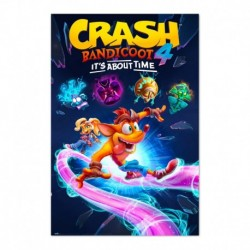 Poster Crash Bandicoot It´S About Time