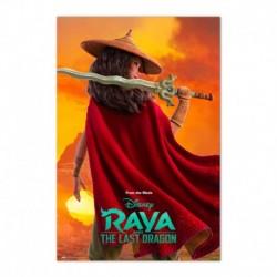 Poster Disney Raya Y El Ultimo Dragon