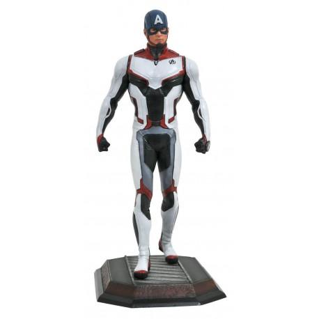 Figura Marvel Gallery Capitan America Traje Equipo