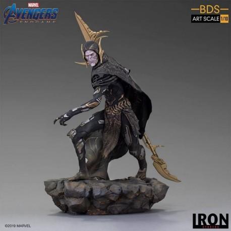 Figura Bds Art Scale 1/10 Marvel Los Vengadores: Endgame Orden Oscura Corvus Glaive