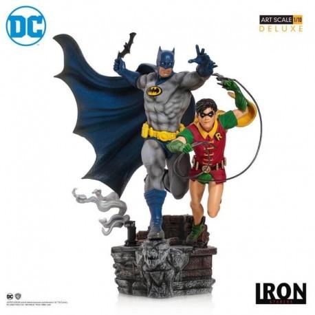 Figura Bds Art Scale 1/10 Dc Comics Batman Y Robin