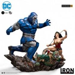 Figura Diorama Scale 1/6 Dc Comics Wonder Woman Vs Darkseid