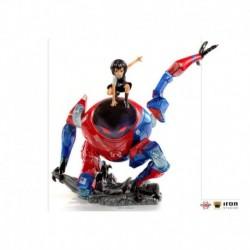Figura Bds Art Scale 1/10 Marvel Spider-Man: Un Nuevo Universo Peni Parker