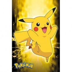 Poster Pokemon Pikachu Neon