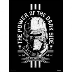 Print 30X40 Cm Star Wars Episodio Ix The Power Of The Dark Side
