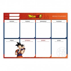 Bloc Planificador Semanal A4 Dragon Ball