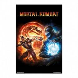 Poster Mortal Kombat 9 Videojuego