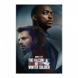 Poster Marvel Falcon & Winter Soldier