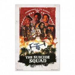 Poster Dc Comics Escuadron Suicida Personajes