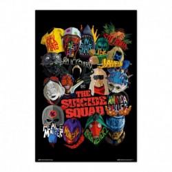 Poster Dc Comics Escuadron Suicida Graphics