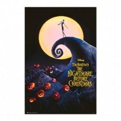 Poster Disney Pesadilla Antes De Navidad Pelicula