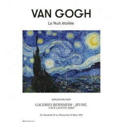 Poster Van Gogh La Nuit Etoilee