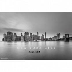 Poster Nueva York City Skyline