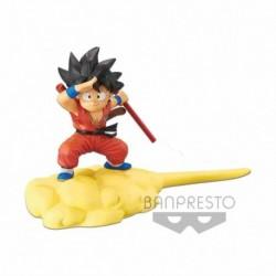 Figura Dragon Ball Goku Y Nube Voladora Version Roja