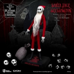 Figura Disney Pesadilla Antes De Navidad Santa Jack Skellington
