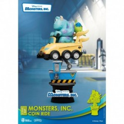 Figura Disney Monstruos SA Diorama Stage Monsters, Inc. Coin Ride