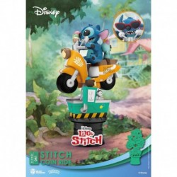 Figura Disney Lilo Y Stitch Moto