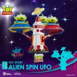 Figura Disney Toy Story Diorama Stage Alien Spin Ufo