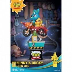 Figura Disney Toy Story Bunny Y Ducky Coin Ride