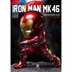 Figura Marvel Iron Man Mk46 Capitan America Civil War
