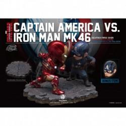 Figura Capitan America Y Iron Man Mk46 Capitan America Civil War