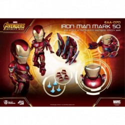Figura Marvel Iron Man Mk50 Los Vengadores Infinity War Deluxe