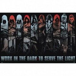 Poster Assassins Creed Work In The Dark