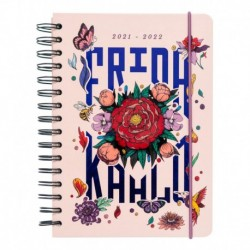 Agenda Escolar 2021/2022 A5 Semana Vista 12 Meses Frida Kahlo
