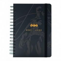 Agenda Escolar 2021/2022 A5 Semana Vista 12 Meses Batman