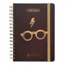 Agenda Escolar 2021/2022 A5 Semana Vista 12 Meses Harry Potter