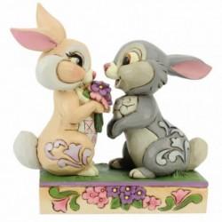 Figura Disney Bambi Tambor Y La Conejita